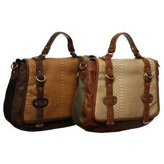 Steve Madden Frequent Flyer Top Handle Messenger Bag