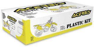 Acerbis Replica Plastic Kit Black HONDA CR125R CR250R :