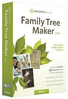Family Tree Maker 2010 Software