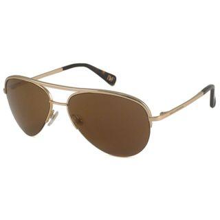 Diane Von Furstenberg Womens DVF101S Aviator Sunglasses