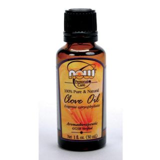 Now Foods 4 ounce Clove Oil Bottles (Pack of 3)