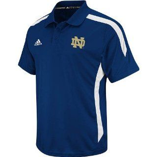 Notre Dame Fighting Irish Adidas 2012 Sideline Navy Performance Polo