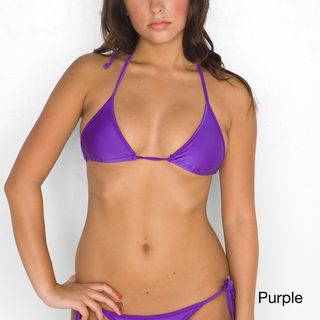 American Apparel Womens Triangle Bikini Top