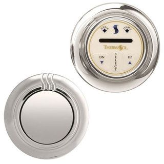 Termasol Traditional Temp Touch Plus Satin Nickel Steam Control