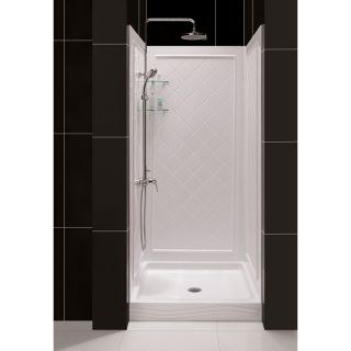 DreamLine 46 50 in W Qwall Back Wall Shower Kit Today $504.99