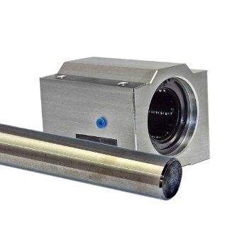 Linear Motion 20 mm Slide Unit and Shaft, Tandem Ball Bushing Slide