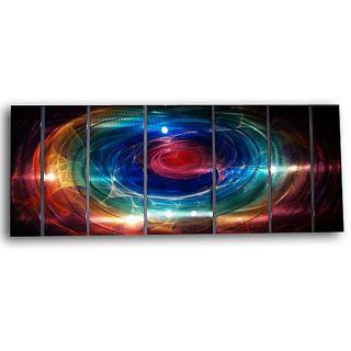 Ash Carl Distance 7 panel Abstract Metal Wall Art Today $314.99