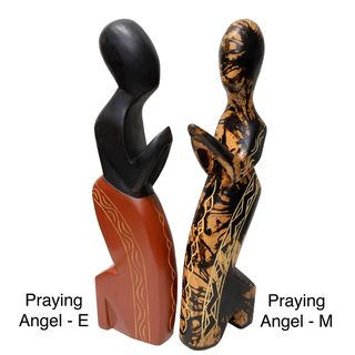 Handmade Praying Angel (Ghana)