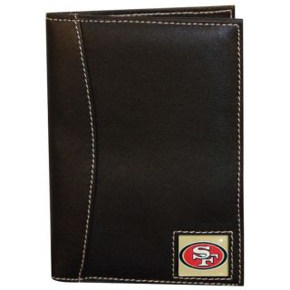 San Francisco 49ers Leather Passport Organizer