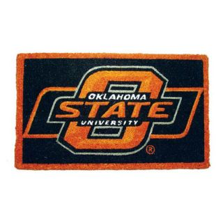 Oklahoma State Cowboys 18 x 30 Door Welcome Mat