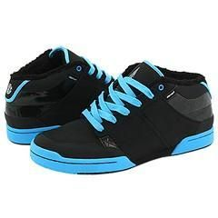 Element Darrell EP Black/Blue Apex/Oilspill Leather Athletic