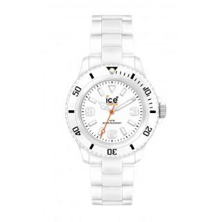 Ice Watch Unisex Armbanduhr Big Classic Solid Weiss CL.WE.B.P.09 ice