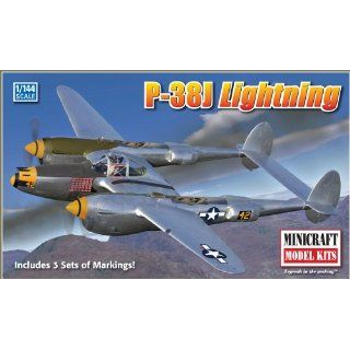Minicraft Models P 38J Lightning 1/144 Scale Toys & Games