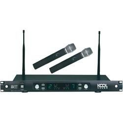 Set double micro sans fil Kool Sound UHF 232   Ensemble double micro