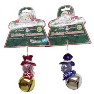 Snowman On Jingle Bell 2 Assorted Case Pack 144