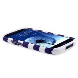Stripe Case/ Protector/ Mount/ Charger for Samsung Galaxy S III/ S3