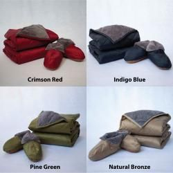 Eddie Bauer Throw & Bootie 3 Piece Holiday Gift Set