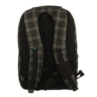 Ogio Convoy Black Plaid 17 inch Laptop Backpack
