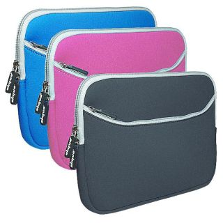 SKQUE Dual pocket 10.2 inch Laptop Carrying Case