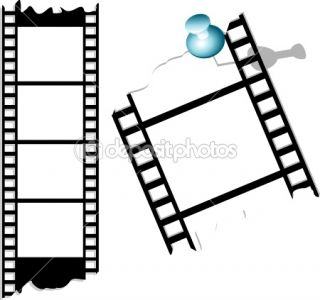 Film and photo tape  Stock Vector © Yana Gulyanovska #1435891