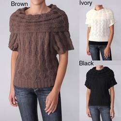 Ci Sono by Adi Juniors Cowlneck Short sleeve Sweater Today $33.34 2