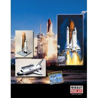 Minicraft Models Updated Shuttle 1/144 Scale Toys & Games