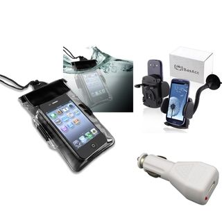 BasAcc Waterproof Case/ Holder/ Charger for Motorola Droid Razr XT912
