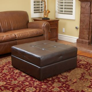 brown leather storage ottoman today $ 195 99 sale $ 176 39 save 10