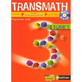 JEUNESSE ADOLESCENT Mathematiques ; 3eme ; manuel de leleve (editi
