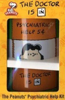 Peanuts The Doctor Is in The Peanuts Psychiatric Help Kit [With