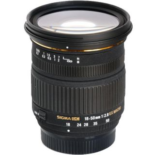 Sigma 18 50mm F2.8 EX DC Macro Lens For Canon