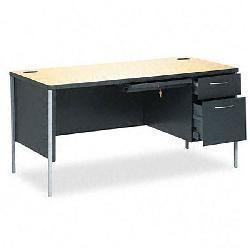 HON Mentor Series Double Pedestal Desk