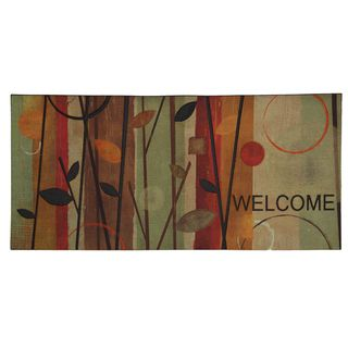 Oversized Twig Welcome Door Mat