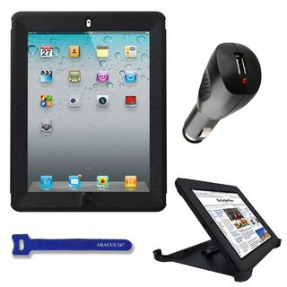 OtterBox Defender Apple iPad 2/3 Black Protective Cover with USB Car