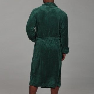 Woven Workz Unisex Boston Hunter Green Microfiber Bath Robe