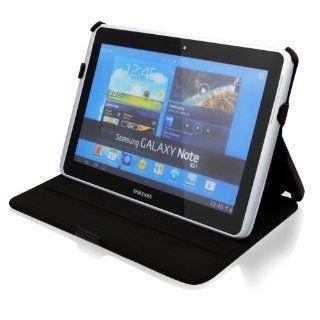 Samsung Galaxy Note 10.1 N8000 N8010 Ultraslim Leder Tasche Case Etui