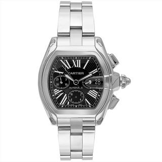 Cartier Mens Roadster Stainless Steel Watch