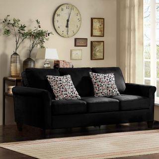 Griffin Black Sofa