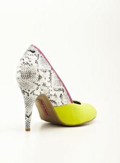 PINK & PEPPER Hayler high heeled pump