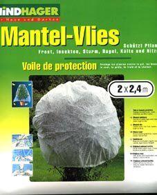 WINDHAGER Mantel Vlies Pflanzen Schutz Folie Garten