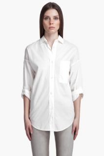 MM6 Maison Martin Margiela Ruched Back Shirt for women