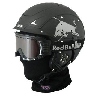 Skihelm Casco SP 5 RedBull im Set   inclusive Casco Brille AX60 und