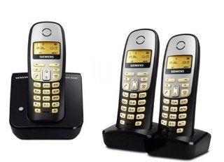 Siemens Gigaset A260 Trio, DECT schnurloses Telefon mit