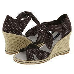 Tommy Hilfiger Sabrina Dark Brown Pin Dots