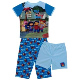 Sid the Science Kid Whys the Sky Blue Boys 3 piece Pajama Set