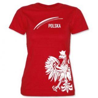 POLEN   POLSKA   EM 2012 WOMEN T SHIRT by Jayess Gr. XS bis XXL