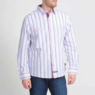 English Laundry by Christopher Wicks Mens The Salford Pink Button