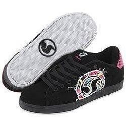 DVS Shoe Company Revival Splat W Black Neon Nubuck