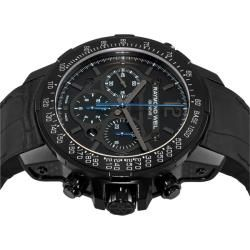 Raymond Weil Mens Nabucco Black Titanium Chronograph Watch