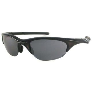 Oakley Mens Half Jacket Polarized Wrap Sunglasses